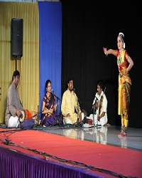 Indian Fine Arts performance of disciple Kum Adyasree Prakriti Sivakumar