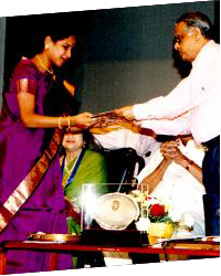 M.G.R award from Music Acedemy